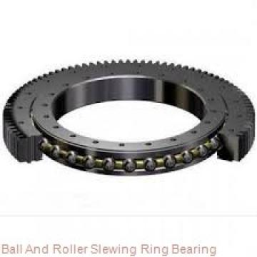 Single Worm Enclosed Housing Slewing Drive with Motor